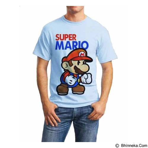 ORDINAL T-shirt Mario 03 Size ML (Merchant) - Kaos Pria