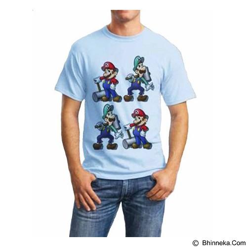 ORDINAL T-shirt Mario & Luigi 02 Size XXL (Merchant) - Kaos Pria