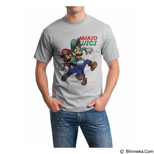ORDINAL T-shirt Mario & Luigi 04 Size M (Merchant) - Kaos Pria