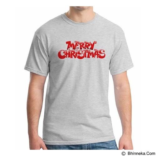 ORDINAL T-shirt Merry Christmas 02 Size ML (Merchant) - Kaos Pria