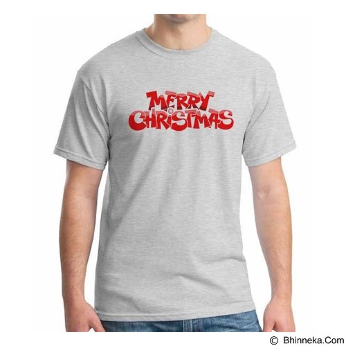 ORDINAL T-shirt Merry Christmas 02 Size XL (Merchant) - Kaos Pria