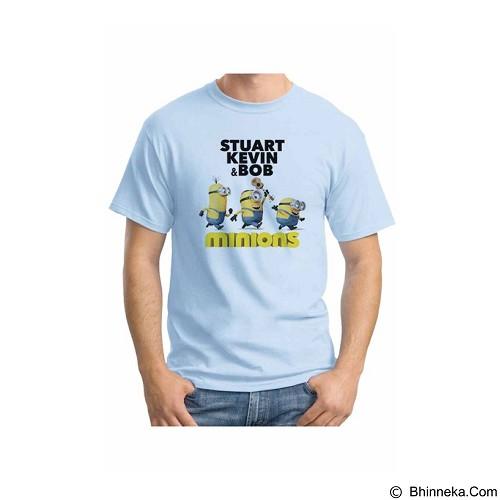 ORDINAL T-shirt Minions 14 Size S (Merchant) - Kaos Pria
