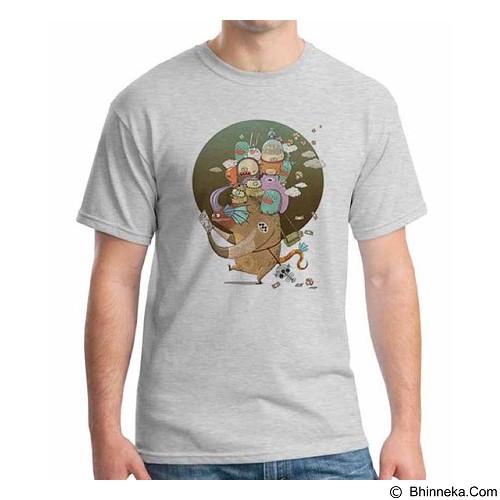 ORDINAL T-shirt Monster 02 Size XXL (Merchant) - Kaos Pria
