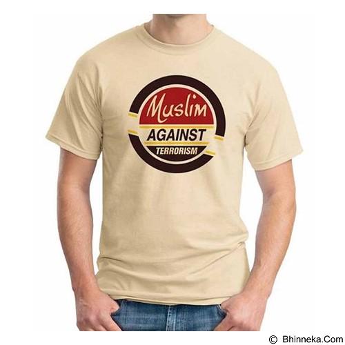ORDINAL T-shirt Muslim Series Muslim Against Terrorism Size L (Merchant) - Kaos Pria