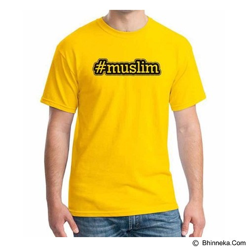 ORDINAL T-shirt Muslim Series Muslim Size ML (Merchant) - Kaos Pria