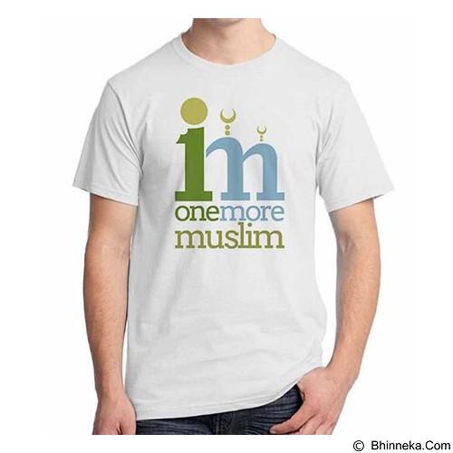 ORDINAL T-shirt Muslim Series One More Muslim Size L (Merchant) - Kaos Pria
