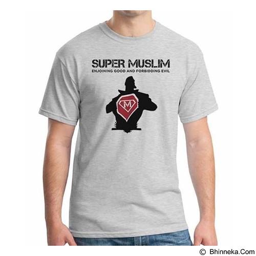 ORDINAL T-shirt Muslim Series Super Muslim Size ML (Merchant) - Kaos Pria
