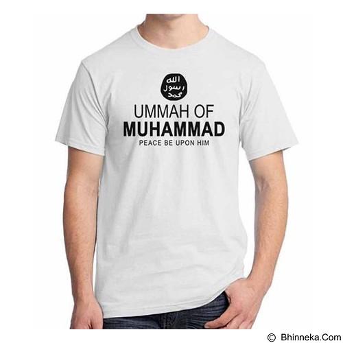 ORDINAL T-shirt Muslim Series Ummah of Muhammad Size ML (Merchant) - Kaos Pria