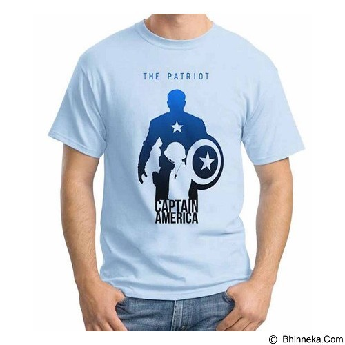 ORDINAL T-shirt New Captain America 03 Size ML (Merchant) - Kaos Pria
