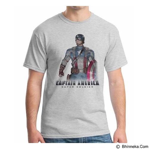 ORDINAL T-shirt New Captain America 08 Size XL (Merchant) - Kaos Pria