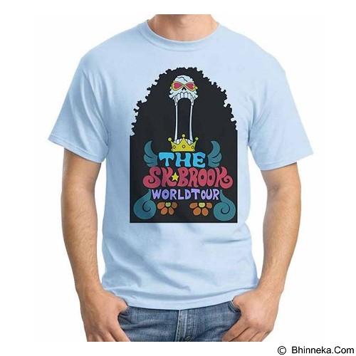 ORDINAL T-shirt One Piece Brook World Tour Size ML (Merchant) - Kaos Pria