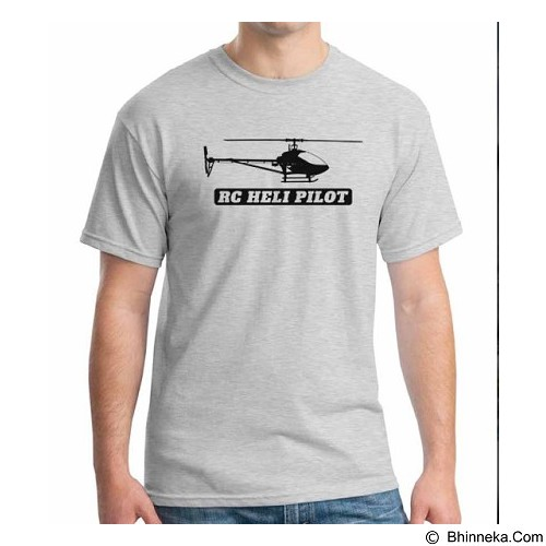 ORDINAL T-shirt RC Helicopter 01 Size M (Merchant) - Kaos Pria