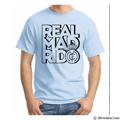 ORDINAL T-shirt Real Madrid Edition 01 Size S (Merchant) - Kaos Pria