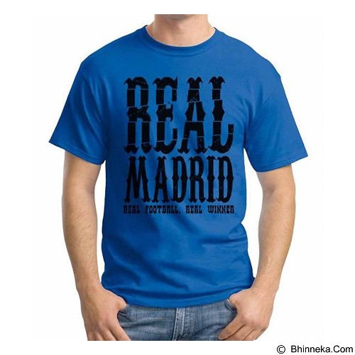 ORDINAL T-shirt Real Madrid Edition 05 Size S (Merchant) - Kaos Pria