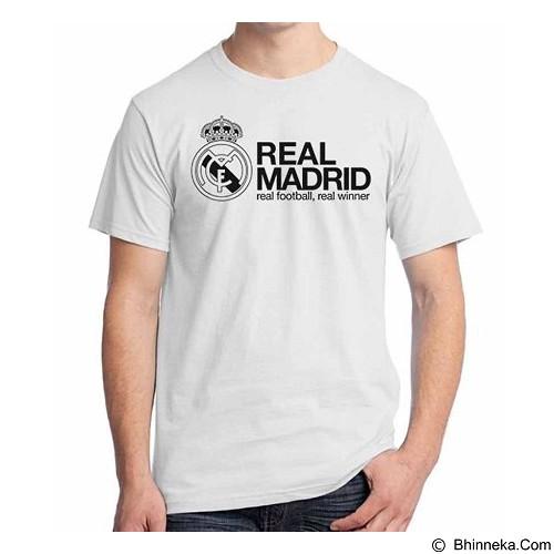 ORDINAL T-shirt Real Madrid Edition 06 Size S (Merchant) - Kaos Pria