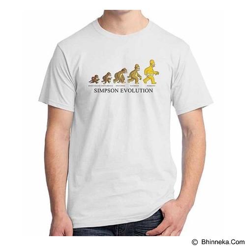 ORDINAL T-shirt Simpson Evolution Size ML (Merchant) - Kaos Pria
