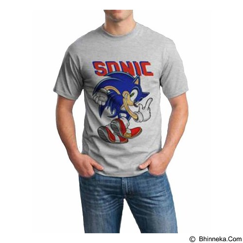 ORDINAL T-shirt Sonic 01 Size ML (Merchant) - Kaos Pria