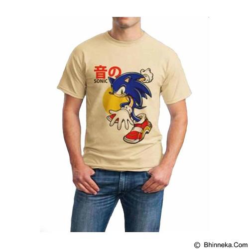 ORDINAL T-shirt Sonic 02 Size M (Merchant) - Kaos Pria