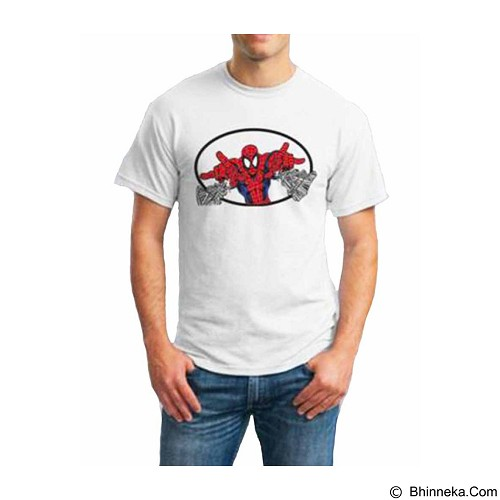ORDINAL T-shirt Spiderman 02 Size XL (Merchant) - Kaos Pria