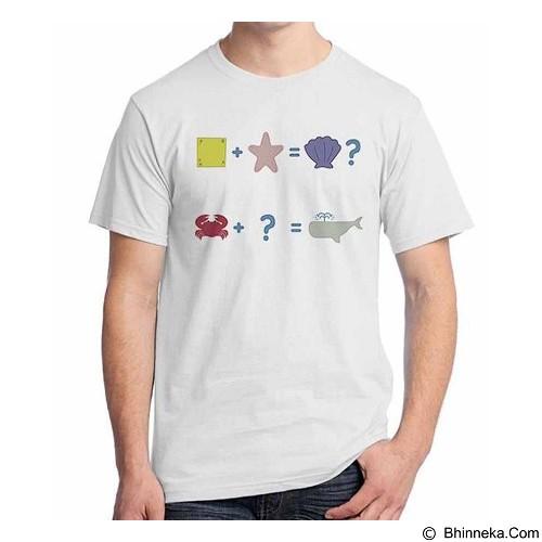 ORDINAL T-shirt Sponge Bob Sponge Bob 05 Size XXL (Merchant) - Kaos Pria