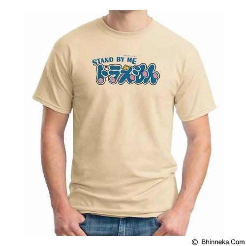 ORDINAL T-shirt Stand By Me Doraemon Logo 02 Size S (Merchant) - Kaos Pria