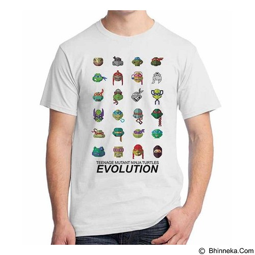 ORDINAL T-shirt TMNT Evolution Size ML (Merchant) - Kaos Pria
