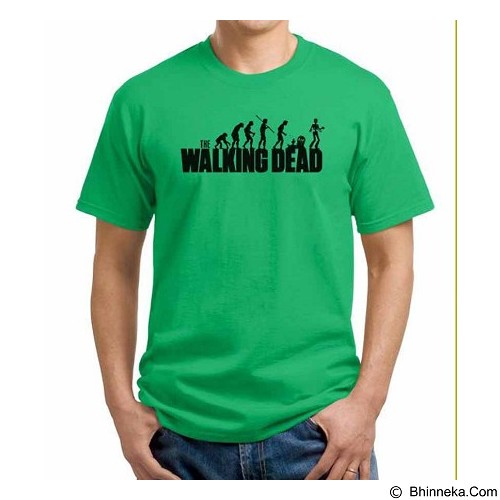 ORDINAL T-shirt The Walking Dead Evolution Size L (Merchant) - Kaos Pria