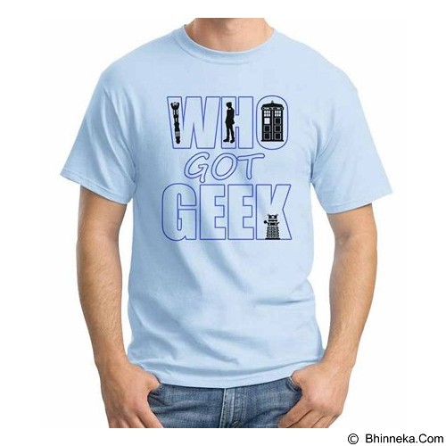 ORDINAL T-shirt Who Got Geek Size ML (Merchant) - Kaos Pria