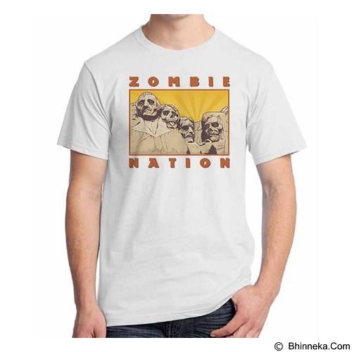 ORDINAL T-shirt Zombie Attack 12 Size ML (Merchant) - Kaos Pria