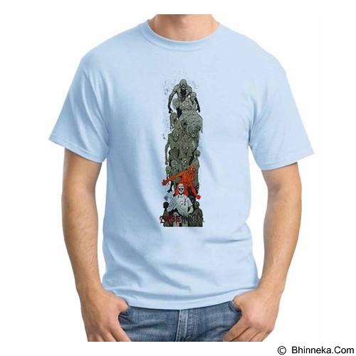 ORDINAL T-shirt Zombie Attack 14 Size XXL (Merchant) - Kaos Pria