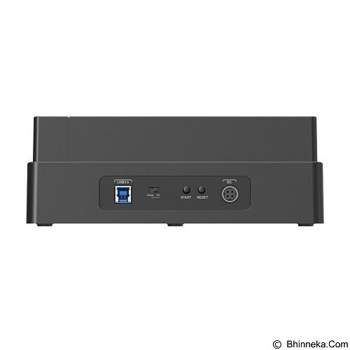 ORICO 2.5/3.5 Inch SATA 2.0 USB 3.0 1 to 3 Clone External HDD [6648US3-C-Hitam] - Black - Hdd Docking