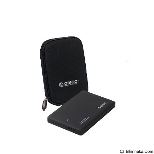 ORICO 2.5 inch SATA HDD External Hard Drive Enclosure Support USB 3.0 [FP2599US3PHD-BLACK] - Black - Hdd External Case