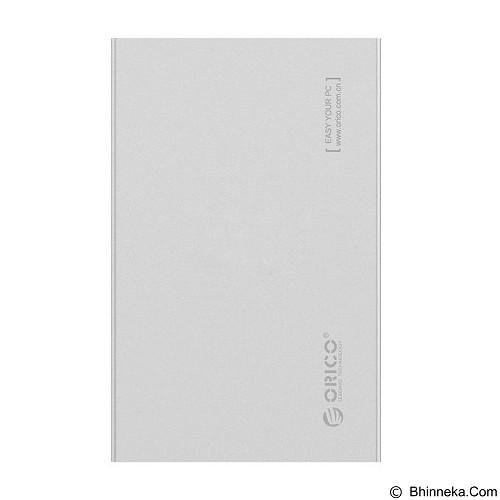 ORICO SATA3 Aluminum 2.5 inch Hard Drive Enclosure [2518S3-SV] - Silver (Merchant) - Hdd Docking