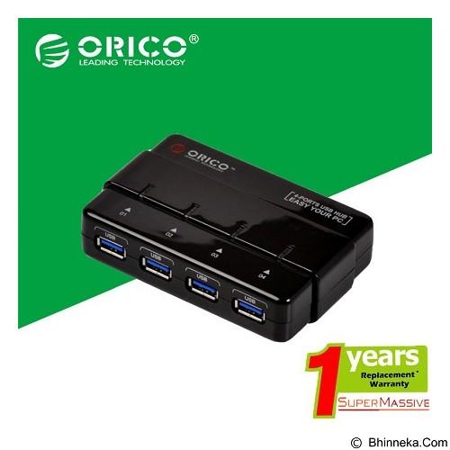 ORICO 4 Port USB Hub [ORICO-H4928-U3-BLACK] - Black - Cable / Connector Usb