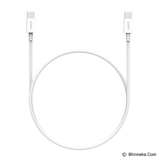 ORICO BCU-10 USB Type-C to C Cable 1M [ORI-BCU-10] - White (Merchant) - Cable / Connector USB