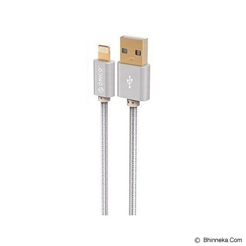 ORICO Double-Sided 100 cm USB to Apple Lightning Charge Cable [LTF-10] - Silver - Cable / Connector Usb