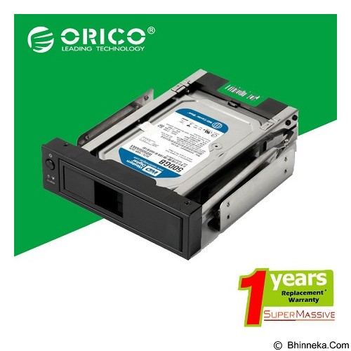 ORICO Internal HDD 3.5 inch Mounting Bracket Adapter [ORICO-1106ss-Hitam] - Black - Component Bracket