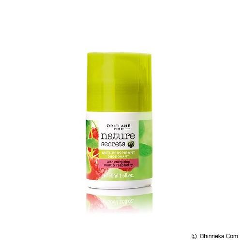 ORIFLAME Nature Secrets Anti-perspirant Deodorant with Energising Mint & Raspberry - Deodorant