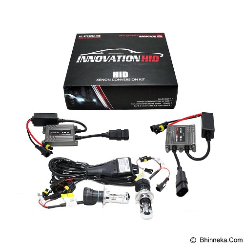 INNOVATION HID Supernova 3000K [HI/LO-H4] - White (Merchant) - Lampu Mobil