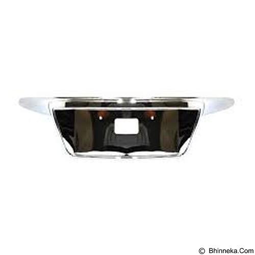 OTOMOBIL Ornament Plat Nomor Frame Toyota Avanza 2004-2011 - Chrome (Merchant) - Organizer Mobil