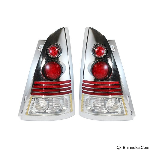 OTOMOBIL Tail Light Alteca Toyota Kijang Innova 2004 - Chrome (Merchant) - Lampu Mobil