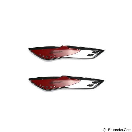 OTOMOBIL Wiper Wing Cover - Red [AI-YI185] (Merchant) - Wiper Mobil