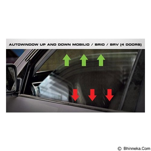 OTOPROJECT Auto Window Up Down For Mobilio/Brio/Brv 4 Doors (Merchant) - Organizer Mobil