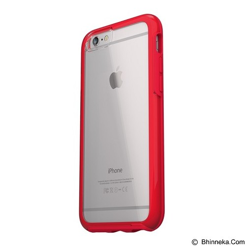 OTTERBOX Symmetry Clear Series for Apple iPhone 6 Plus /6s Plus [77-52479] - Scarlet Crystal - Casing Handphone / Case