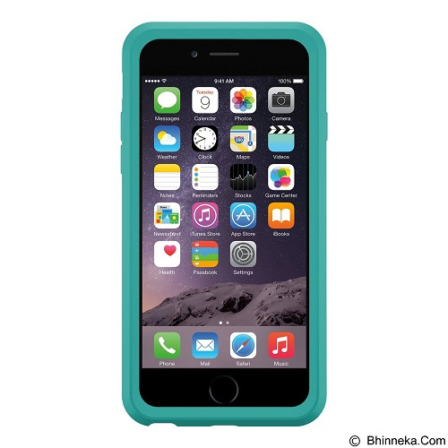 OTTERBOX Symmetry Series for Apple iPhone 6 - Aqua Dot II - Casing Handphone / Case