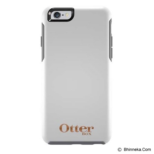 OTTERBOX Symmetry Apple iPhone 6 Limited Edition - Glacier W/ Rose Gold Logo - Casing Handphone / Case