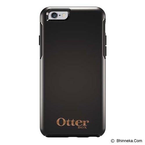 OTTERBOX Symmetry Apple iPhone 6 Limited Edition - Black W/ Rose Gold Logo - Casing Handphone / Case