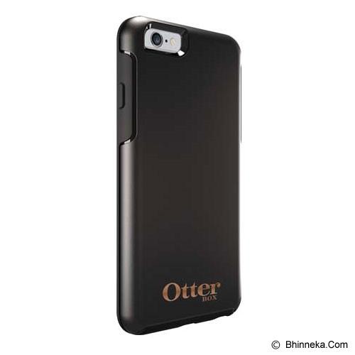OTTERBOX Symmetry Apple iPhone 6 Limited Edition - Black W/ Rose Gold Logo - Casing Handphone / Case