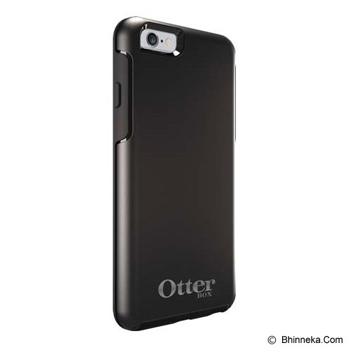 OTTERBOX Symmetry Apple iPhone 6 Limited Edition - Black W/ Silver Logo - Casing Handphone / Case