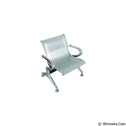 OUMA Kursi Tunggu 1 Seaters [DMS-01] (Merchant) - Kursi Tunggu